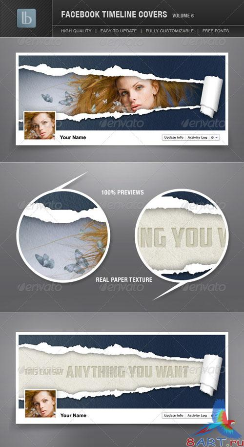 GraphicRiver Facebook Timeline Cover - Volume 6