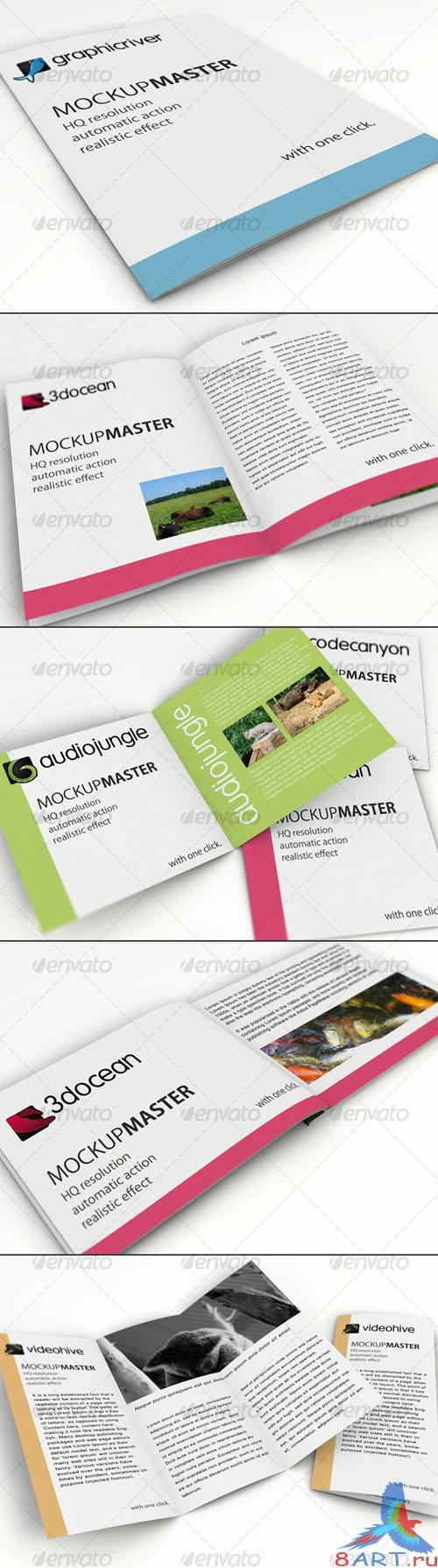 GraphicRiver Mock-up Master - ID series 01