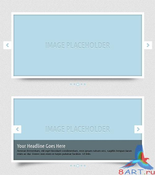 PSD Template - Simple Sliders