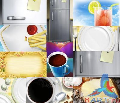 PSD Layered Pictures - Kitchen