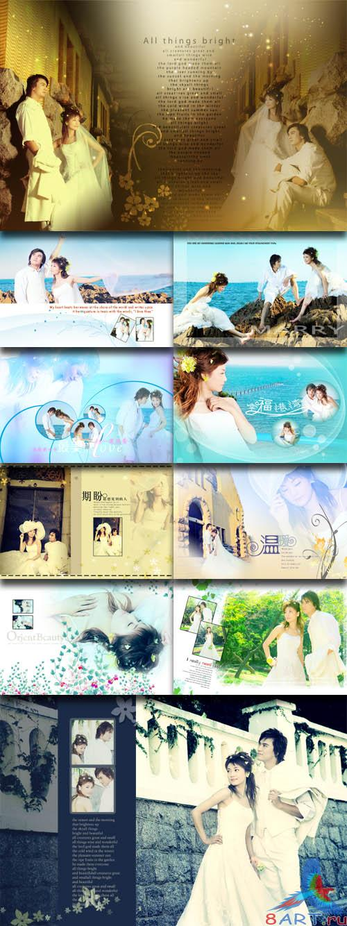 PhotoTemplates - Wedding Collection Vol.10 (77522)