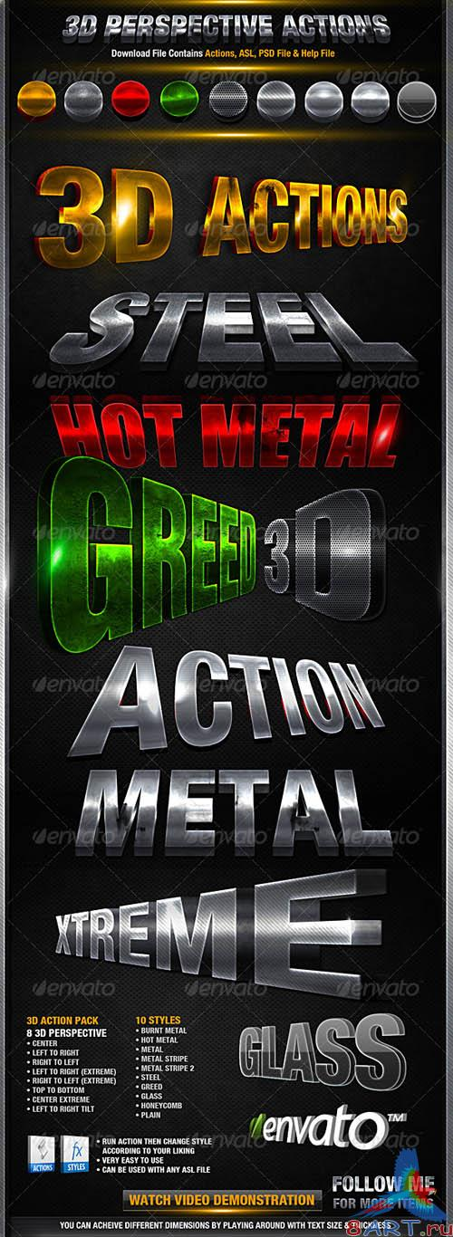GraphicRiver 3D Action Pack - REUPLOAD