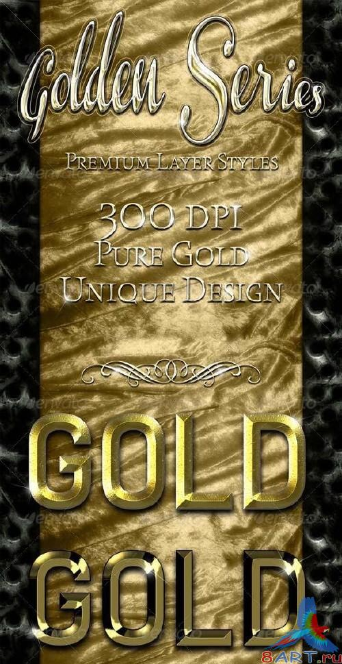 GraphicRiver Golden Series - Premium Layer Styles