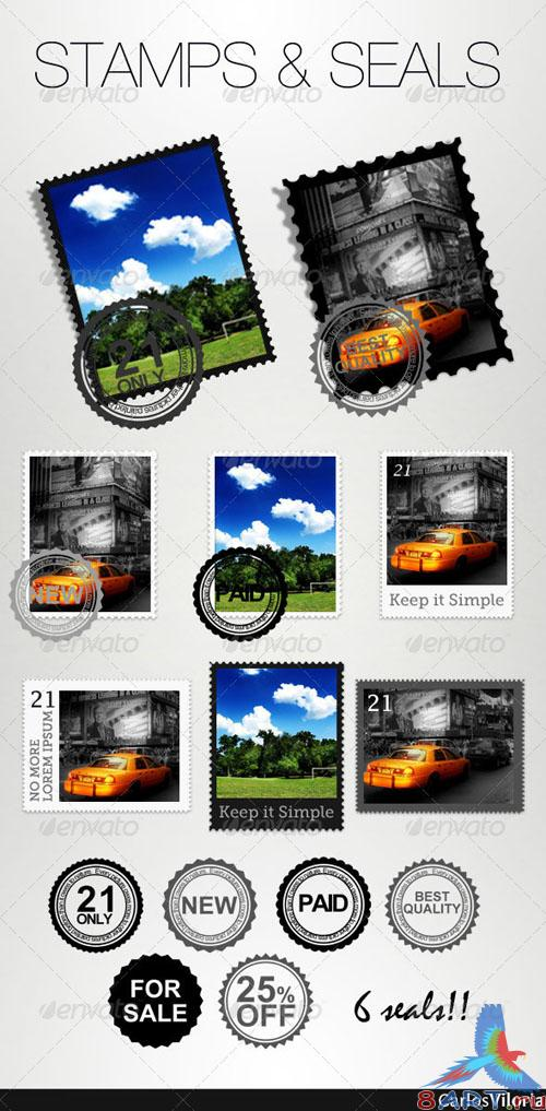 GraphicRiver Stamps And Seals - REUPLOAD