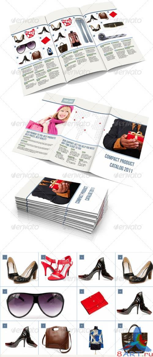 GraphicRiver Compact Product Catalog Template
