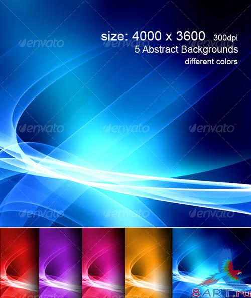 Hi-Res Abstract Colorful Backgrounds - GraphicRiver