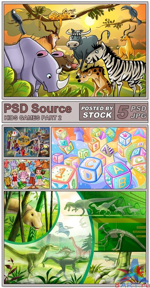 PSD Source - Kids Games 2