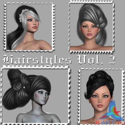 Set Of Hairstyles Vol. 2