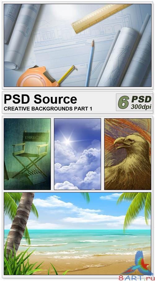PSD Source - Creative backgrounds 1