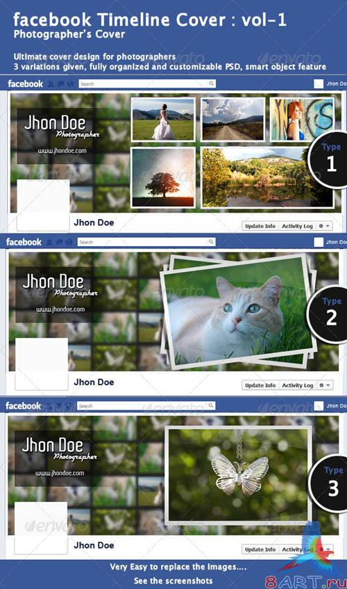 GraphicRiver Facebook Timeline Cover-1
