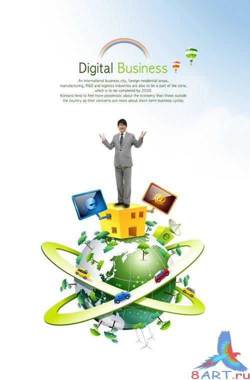 PSD Source - Business World 1