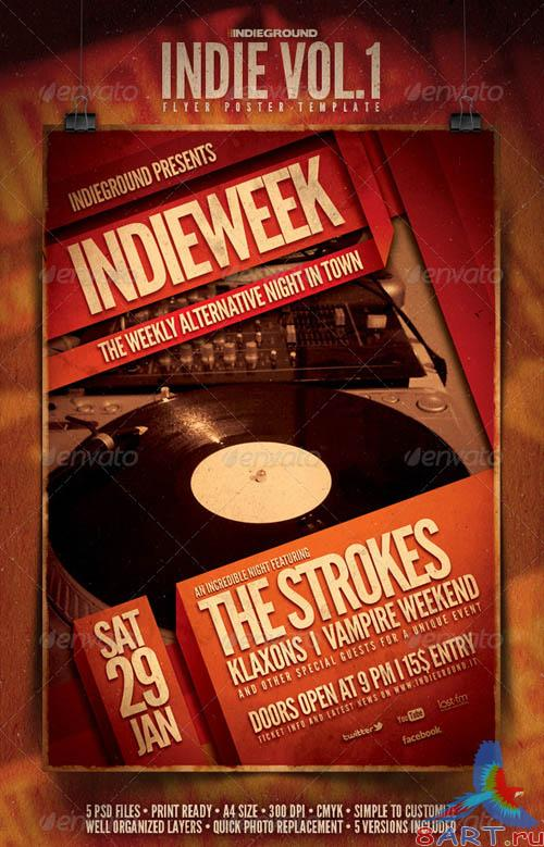 GraphicRiver Indie Flyer/Poster