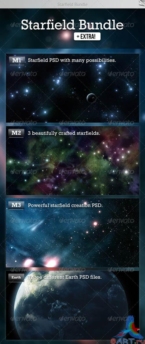 GraphicRiver Starfield Bundle