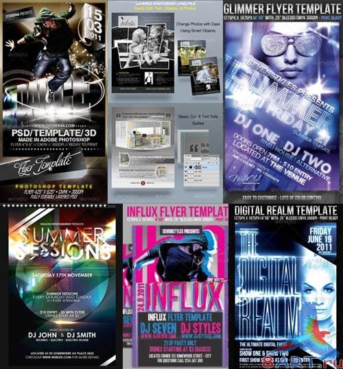 GraphicRiver Flyers Templates Pack 2