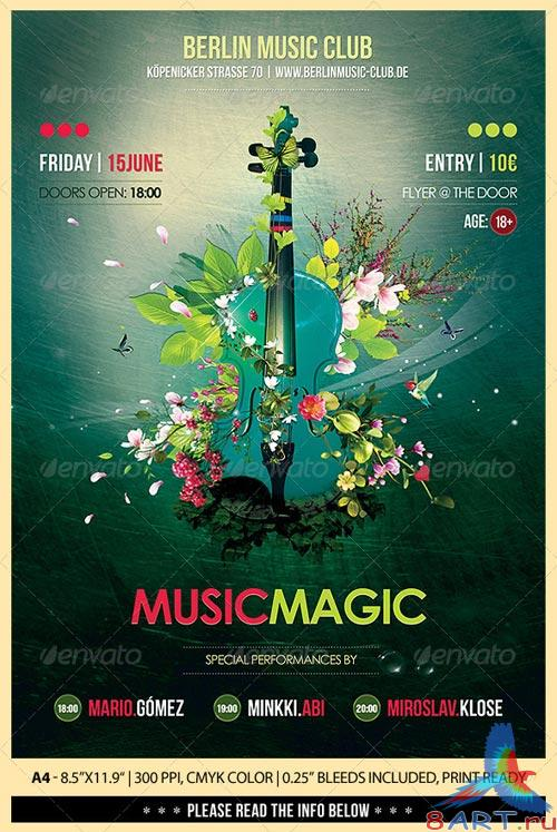 GraphicRiver Music Magic Poster/Flyer