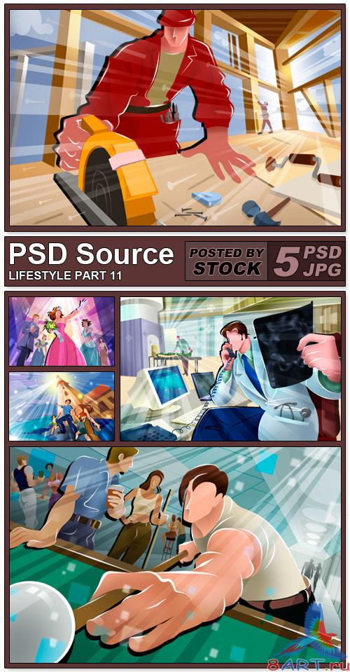 PSD Source - Lifestyle 11