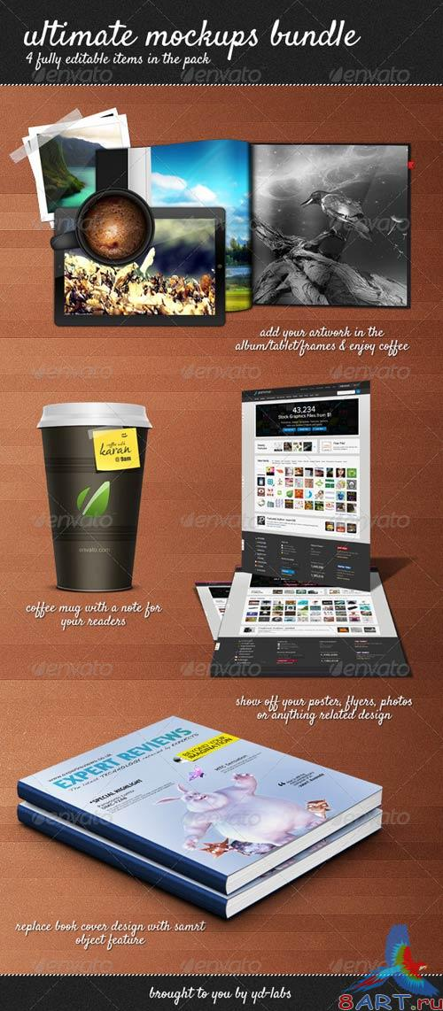 GraphicRiver Ultimate Mockups Bundle