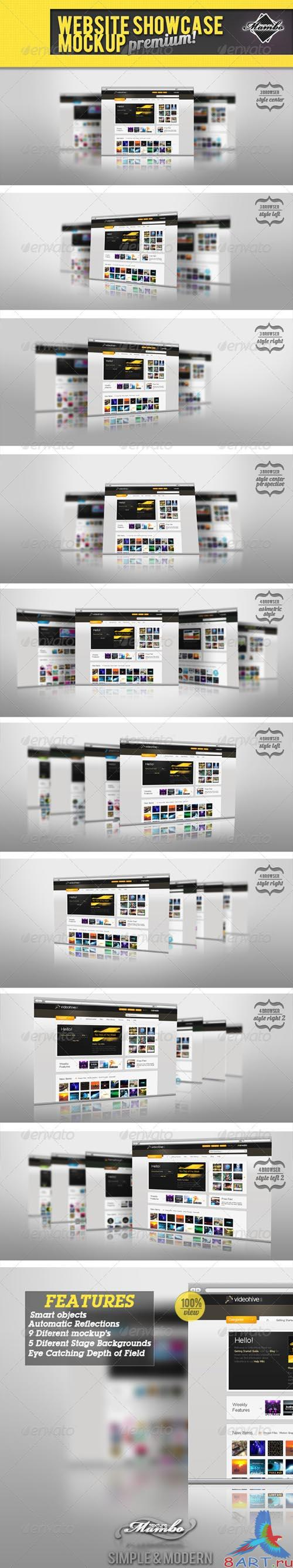 GraphicRiver Website Showcase Mockup - REUPLOAD