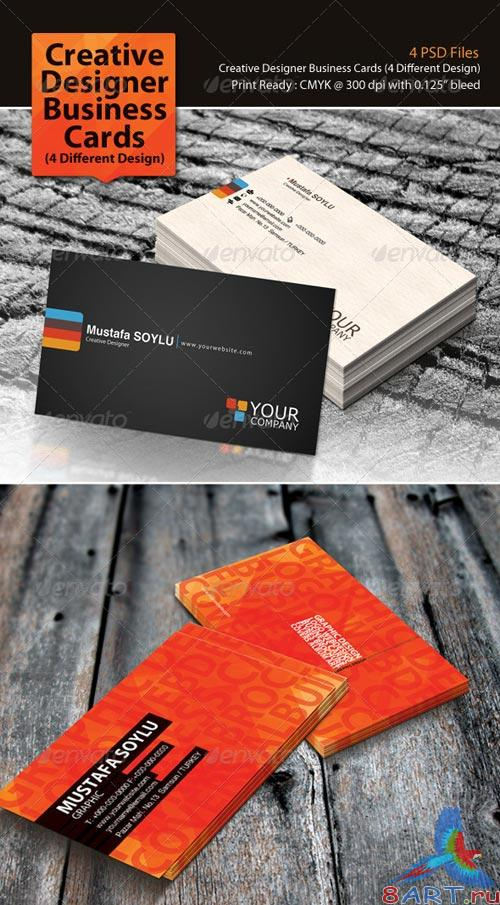 GraphicRiver Creative Designer Business Cards Pack