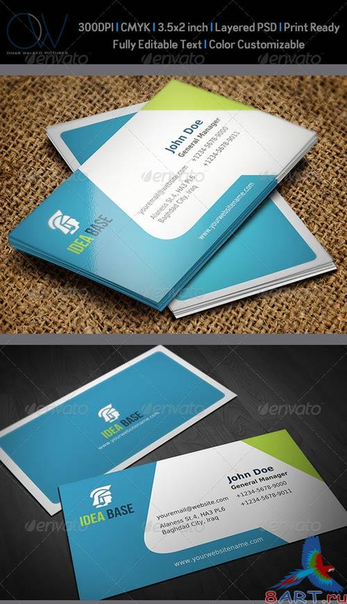 GraphicRiver Corporate Business Card Vol.12