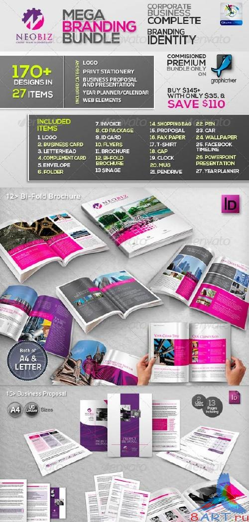 GraphicRiver NeoBiz: Corporate Business ID Mega Branding Bundle