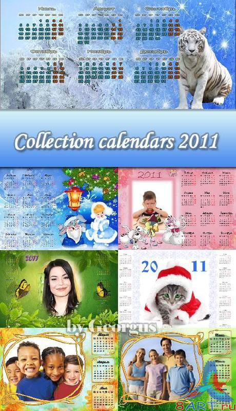 Collection calendars 2011