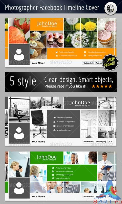 GraphicRiver Photographer FB Timeline Cover