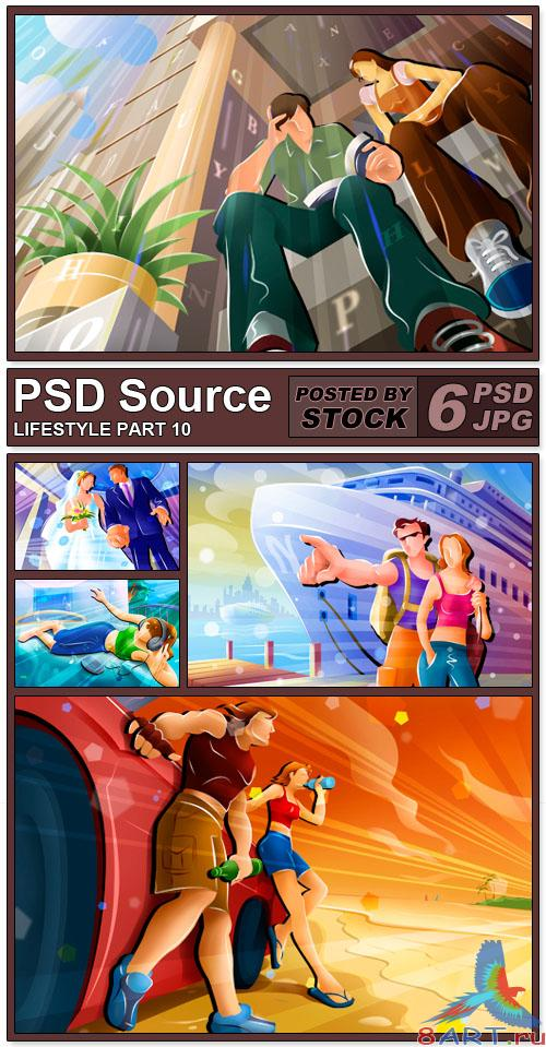PSD Source - Lifestyle 10