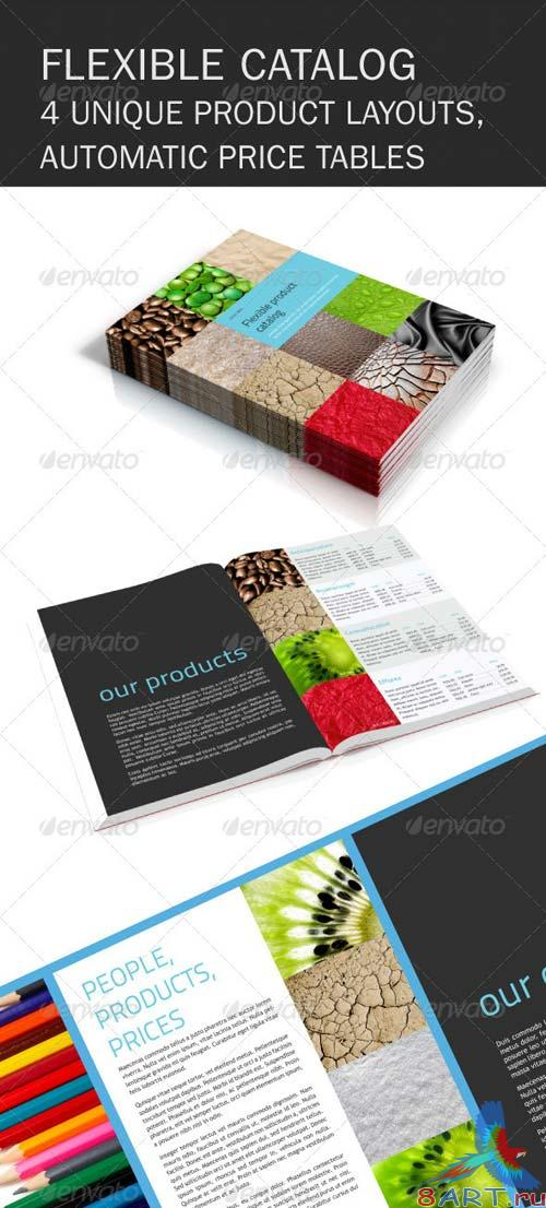 GraphicRiver Flexible Product Catalog Brochure