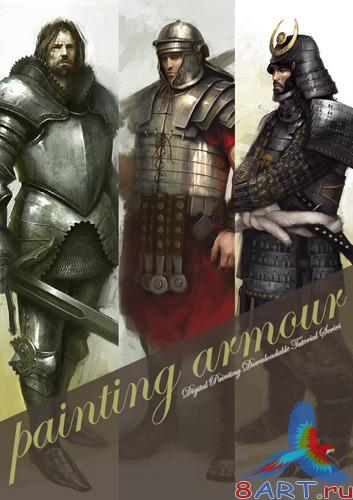 Painting Armour - Digital Painting Downloadable Tutorial Series 2008