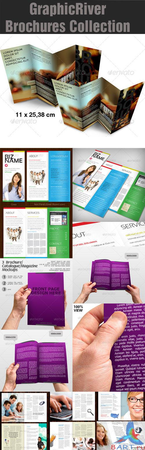 GraphicRiver Brochures Collection Pack 1