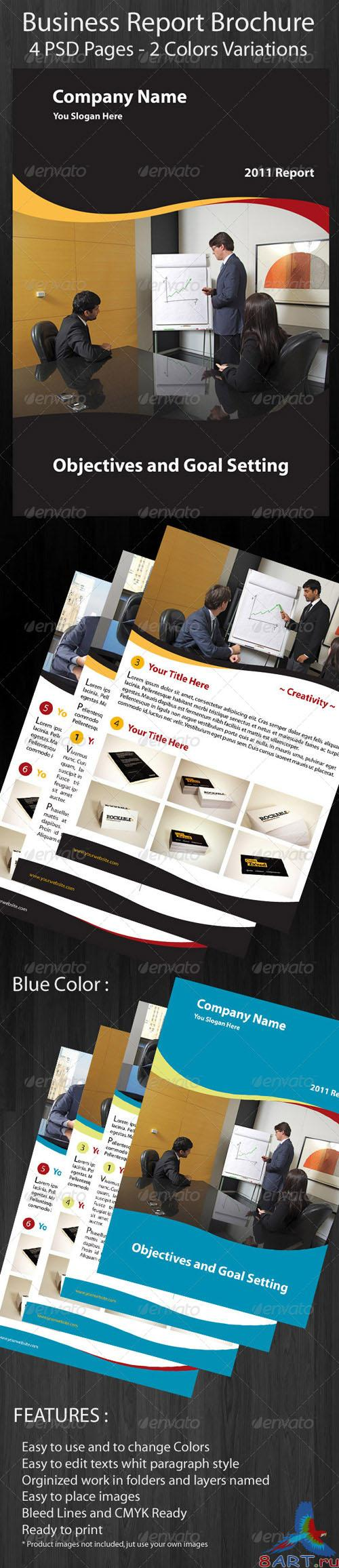 Business Brochure Report - GraphicRiver
