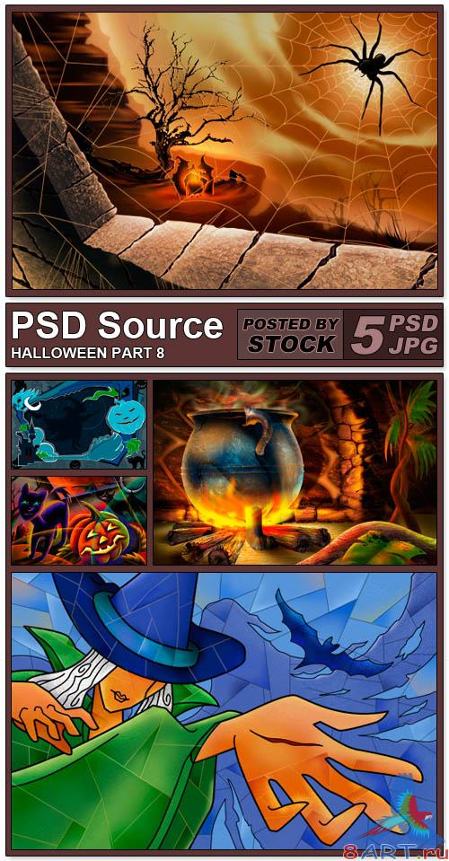 PSD Source - Halloween 8