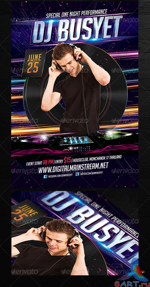 GraphicRiver Dj Flyer Template