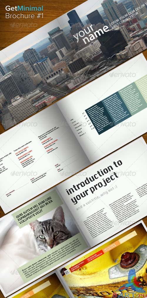 GraphicRiver Get Minimal - Brochure 01
