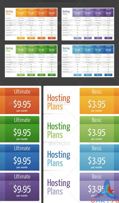 GraphicRiver Web Pricing Tables (Grids)