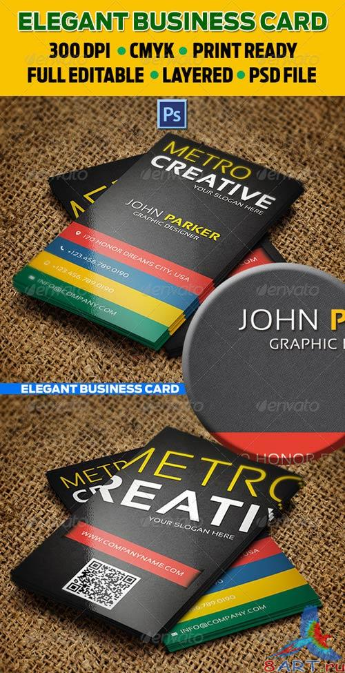 GraphicRiver Creative Business Card 34