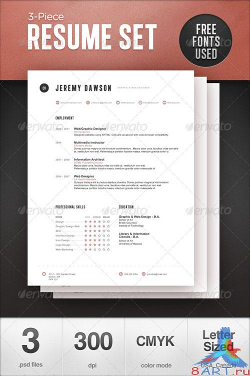 GraphicRiver Stylish Resume