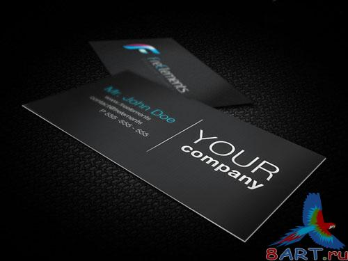 Business Cards Mockups PSD Template #1