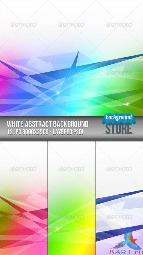 GraphicRiver - White Abstract Background 2561972