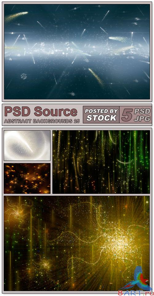 Layered PSD Files - Abstract backgrounds 25