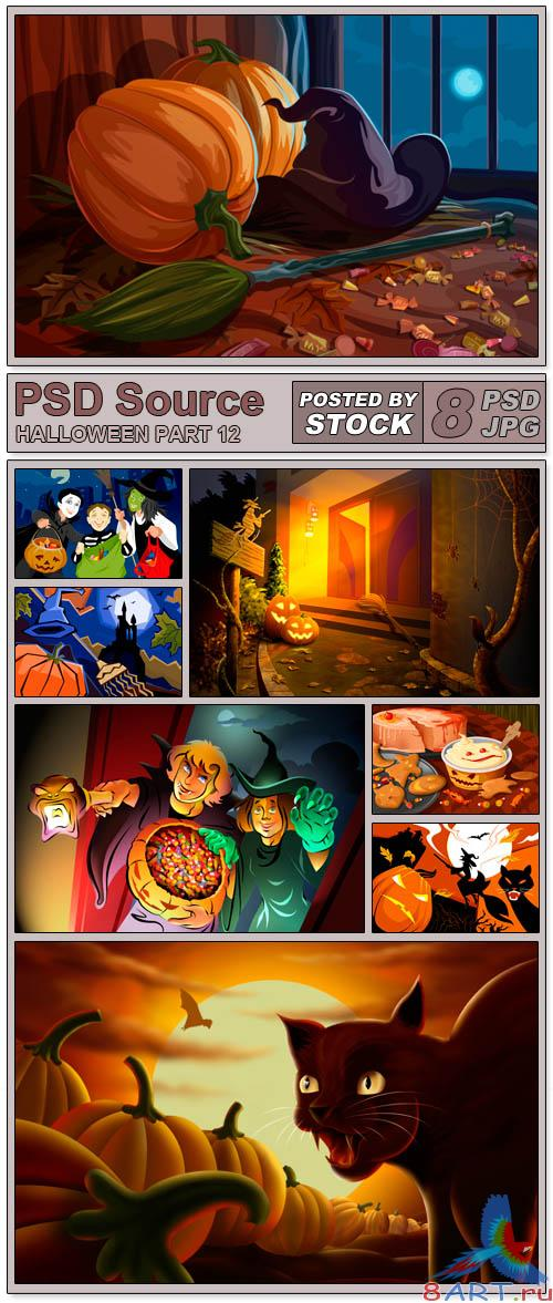 PSD Source - Halloween 12