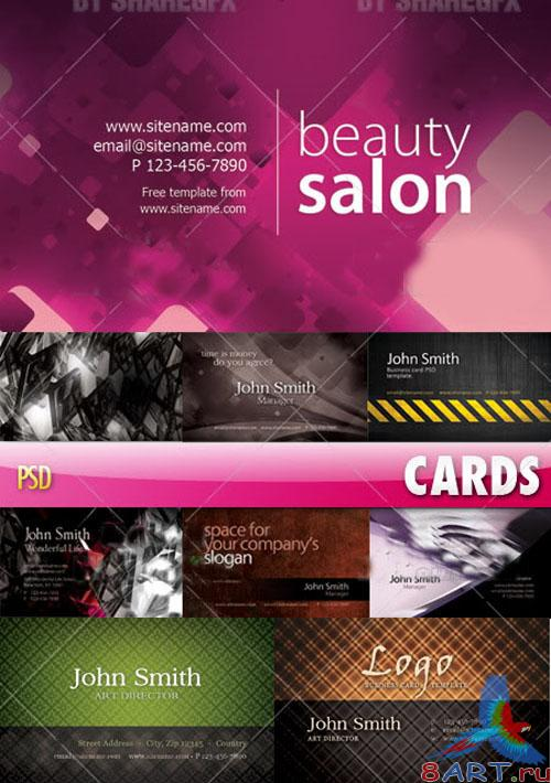 PSD Template - Business cards pack