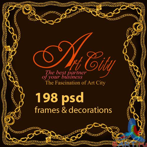 ArtCity Frames and Decorations vol. 01, vol. 02