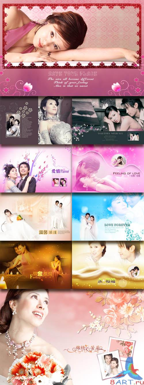 PhotoTemplates - Wedding Collection Vol.3 (77508)