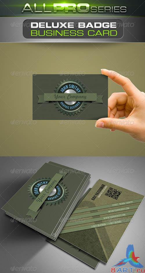 GraphicRiver Deluxe Badge Business Card