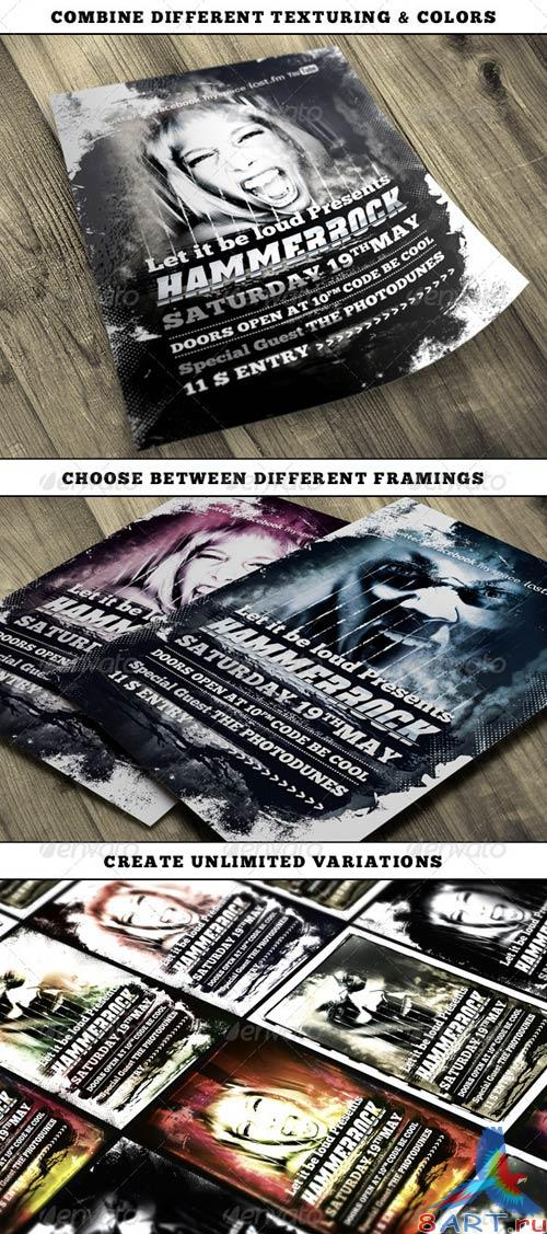 GraphicRiver Hard Rock Vol.3