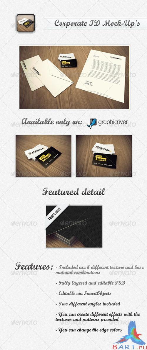 GraphicRiver - Corporate ID Mock-Up 231893