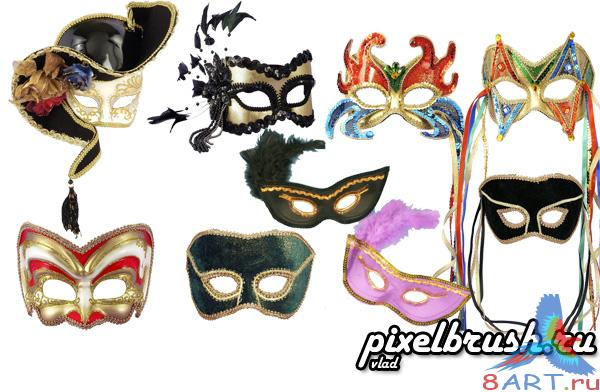 8 Masks - ������ ����� (������� � ������� ������� Photoshop)