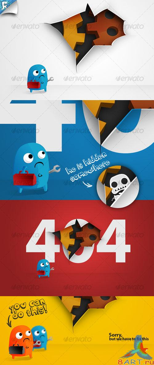 GraphicRiver Under Construction & 404 Hole
